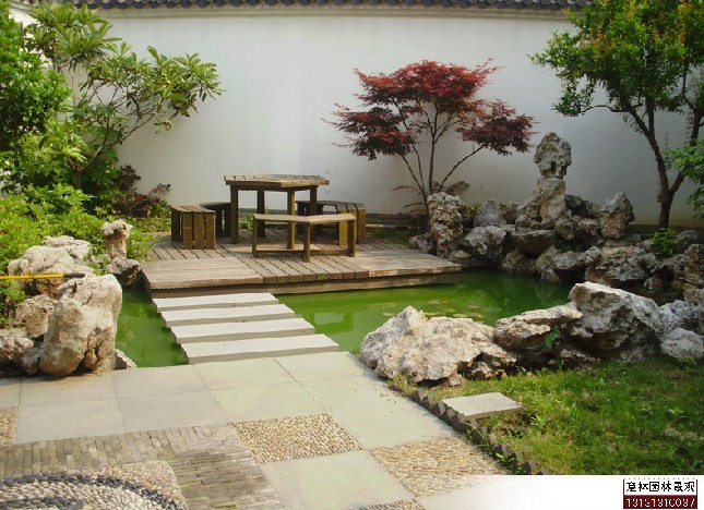 张家口意林园林景观设计 庭院